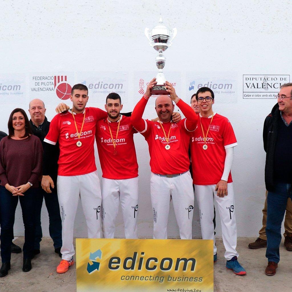 """EDICOM patrocina el campeonato deportivo """"Interpobles de Galotxa"""""""