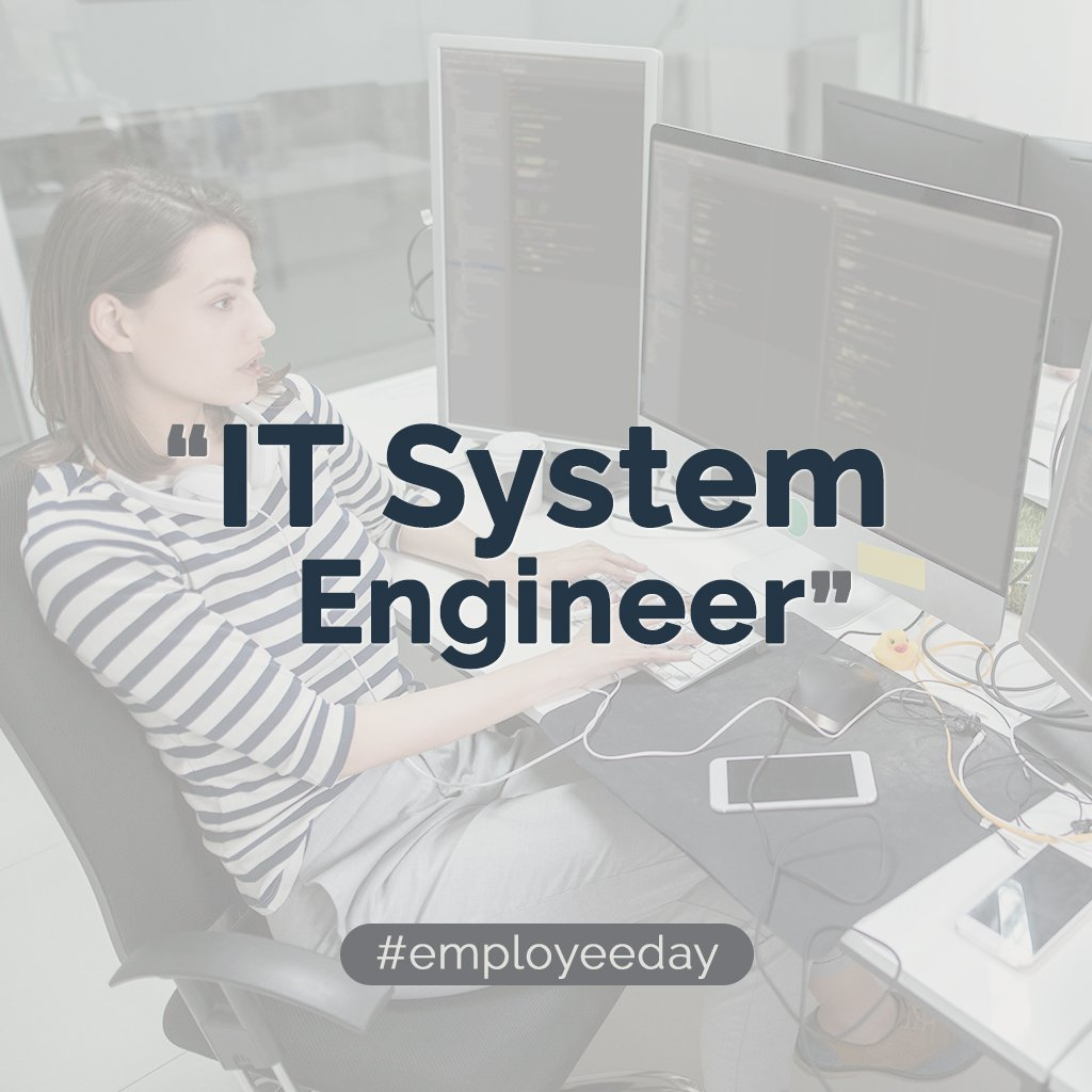 IT SYSTEMS ENGINEER