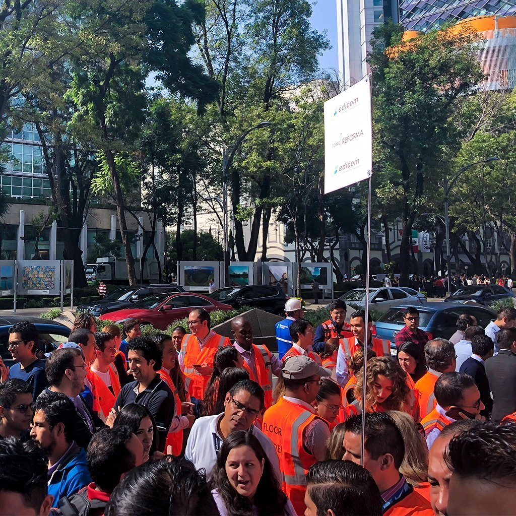 EDICOM participa en un macrosimulacro de sismo en México