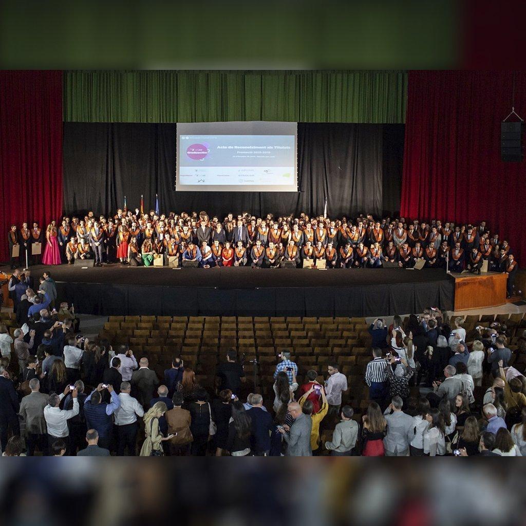 EDICOM colabora en la graduación de la ETSINF 2019