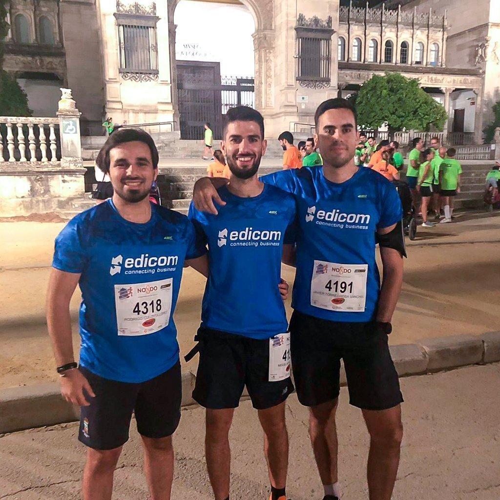 EDICOM participa en la Carrera Nocturna del Guadalquivir en Sevilla