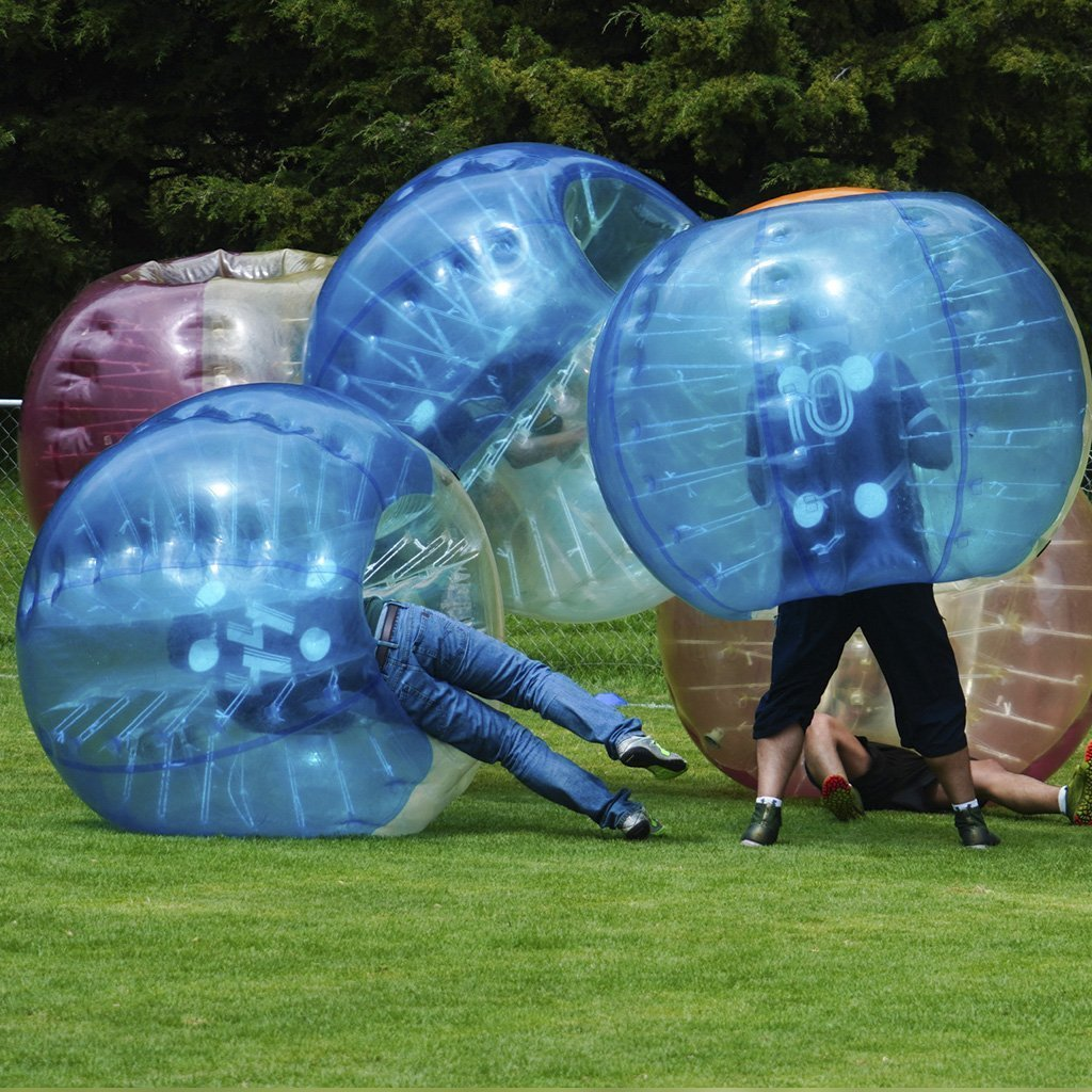 EDICOM Mexico enjoys a day of Bubble Soccer