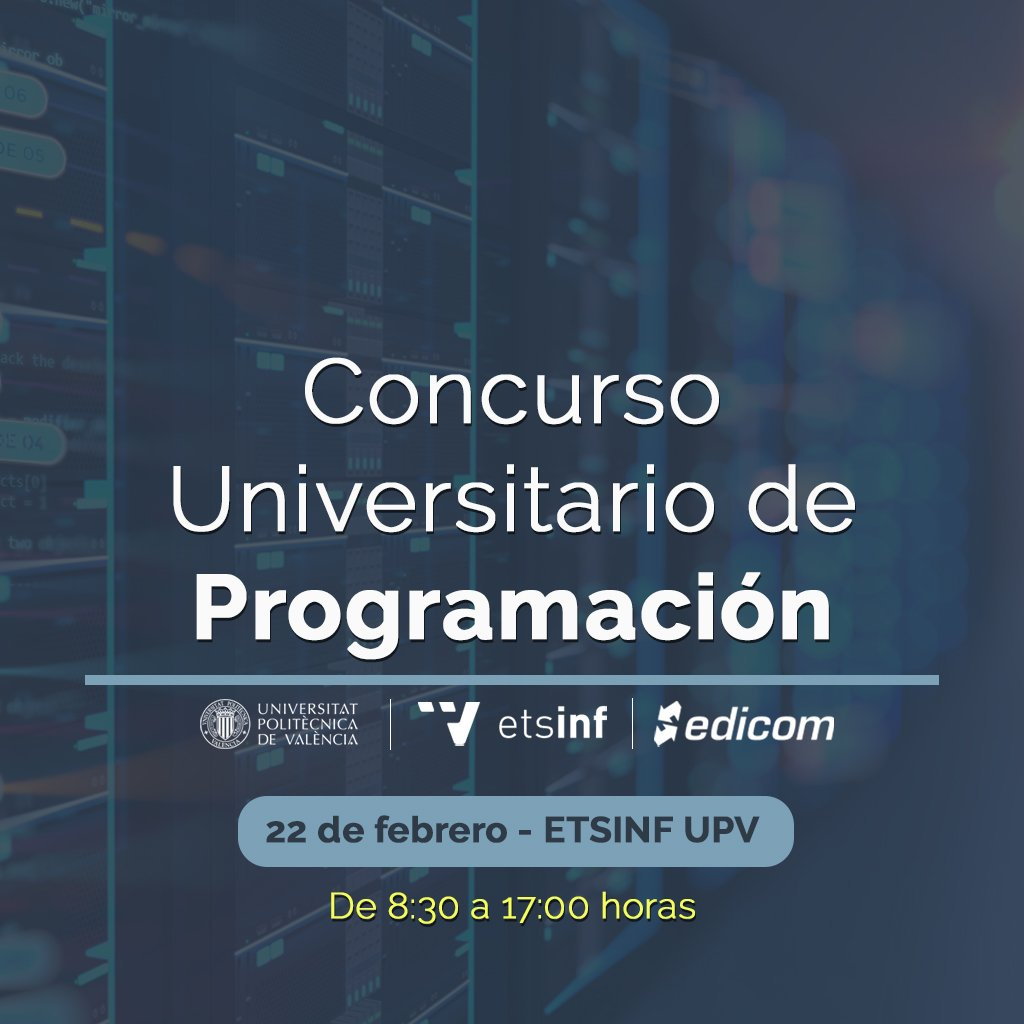 EDICOM patrocina el Concurso Universitario de Programación