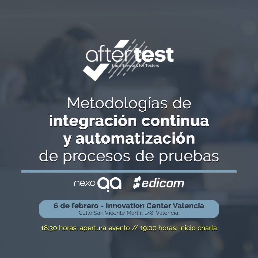 EDICOM will be taking part in AfterTest Valencia