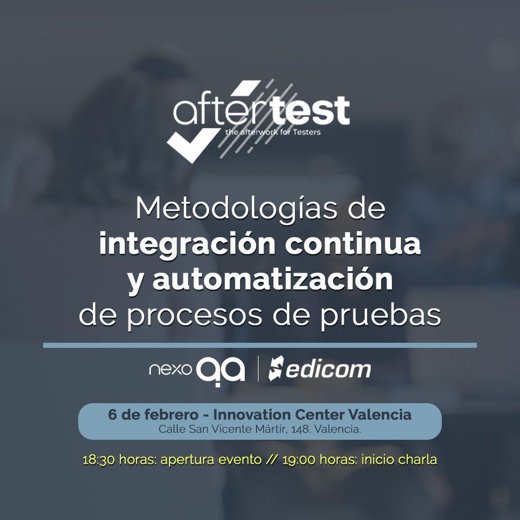 EDICOM participará en AfterTest Valencia