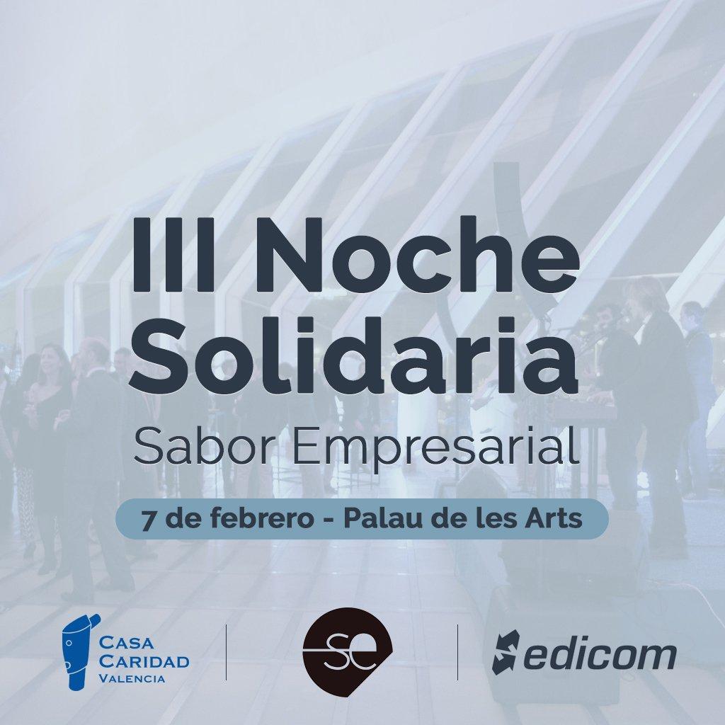 EDICOM colaborará con la III Noche Solidaria de Sabor Empresarial