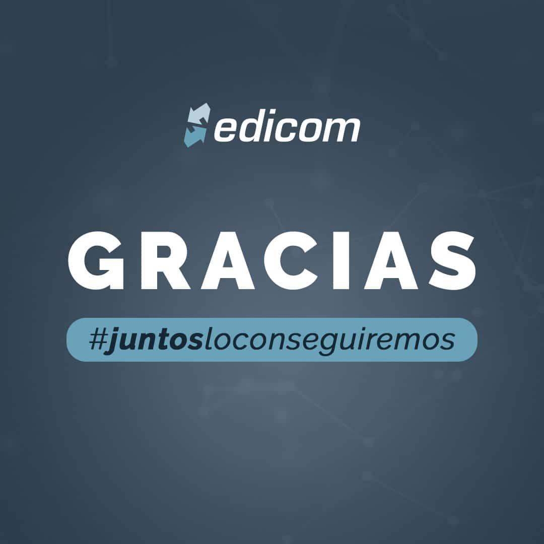 EDICOM agradece el gran teletrabajo de su equipo