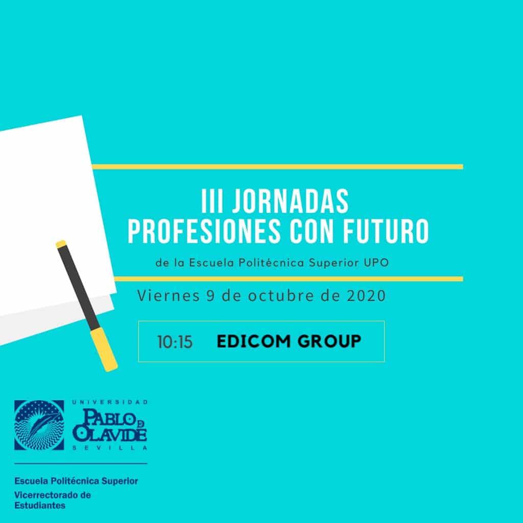 EDICOM participará en las III Jornadas Profesiones con futuro