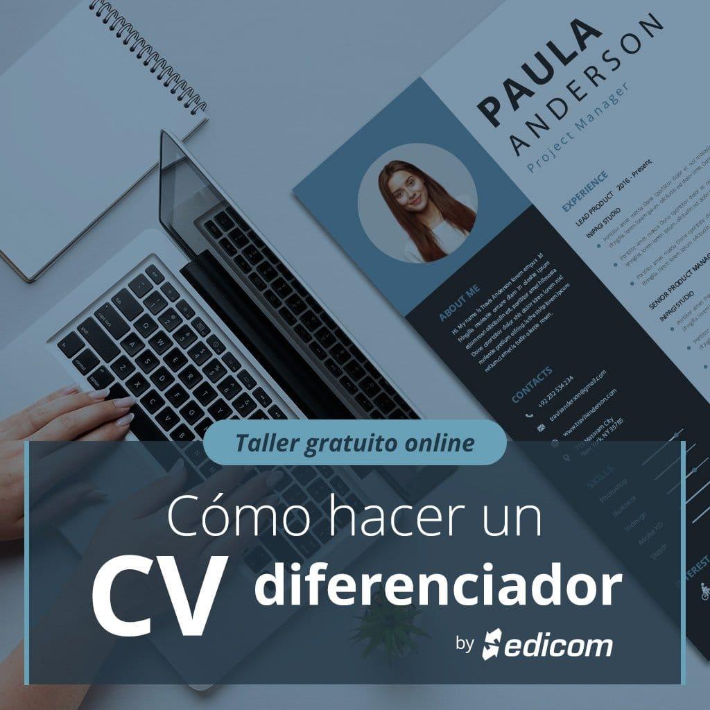 Taller: Cómo hacer un CV diferenciador