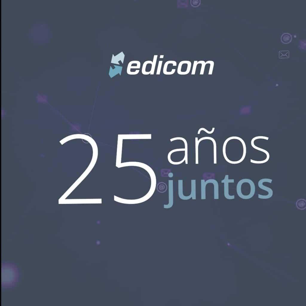 EDICOM cumple 25 años