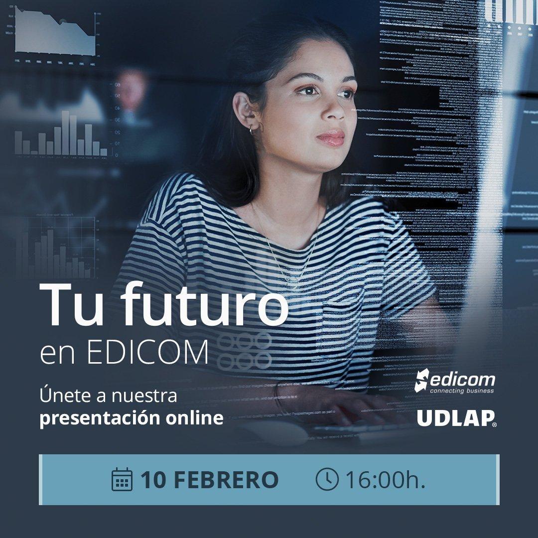 EDICOM ofrecerá una charla online sobre oportunidades profesionales